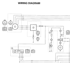 1996 yamaha kodiak wiring diagram wirdig yamaha wiring diagram together yamaha warrior 350 wiring diagram