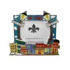 new orleans lamp post picture frame
