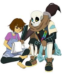 Đọc Part 3~ HOW DID U KNOW THAT!!! - Truyện Never Too Late To Ink Your  Love|Reader X Sans (Ink!) - Undertale Au's Fanfiction