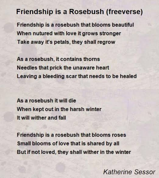 famous poems about friendship by famous poets