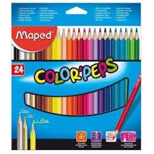 <b>Цветные карандаши Maped Color</b>'Peps 24 цвета | Отзывы ...