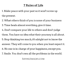 40 Rules Of Life Shared By Raise Riots On We Heart It Fascinating 7 Rules Of Life Quote