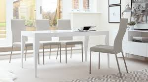 cool grey leather modern dining chairs uk