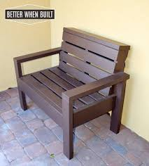 cool pallet furniture. Ana White\u0027s Simple Outdoor Love Seat Plans Inspired The Frame For Bench. I Adjusted And Adapted Her To Fit Around Pallet. Cool Pallet Furniture E