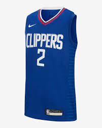 Kawhi Leonard Clippers Icon Edition Nike NBA Swingman Trikot für ältere  Kinder. Nike DE