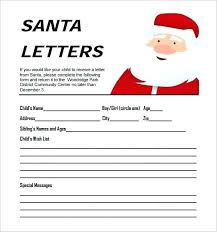 Free Letter From Santa Word Template Santa Letter Template Word Doc Emmaplays Co