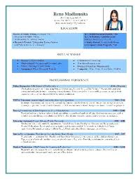 Chartered Accountant Resume Template Cv Wordsmithservices Co