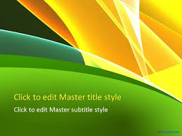 Dark Green Powerpoint Background 10203 Yellow And Green Ppt Template 0001 1 Stuff To Buy Ppt