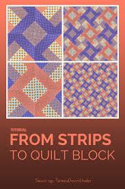 Video tutorial: From strips to quilt block (Hidden wells ... & Video tutorial: From strips to quilt block (Hidden wells) Adamdwight.com