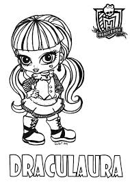 Small Picture Coloring Pages Monster High Coloring Pages Free Coloring Pages