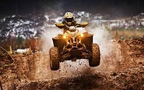 Atv Motocross And Mud