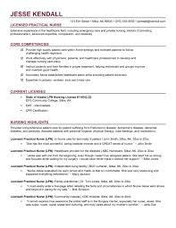 Lpn Sample Resume Resume Templates Lpn Resume Templates