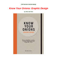 Book Graphic Design Pdf Online Pdf Read Online Know Your Onions Graphic Design Pdf