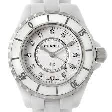 chanel j12 white ceramic diamonds quartz ladies watch h2422 7696 chanel j12 white ceramic diamonds quartz ladies watch h2422 swisswatchexpo