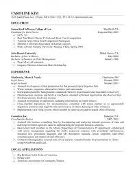 trial attorney resume senior attorney resume