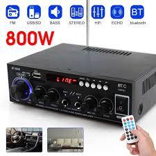 <b>800W HIFI 2CH</b> Audio Power Amplifier 110/220V Home Theater ...