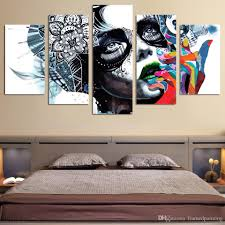 best quality framed hd printed canvas prints wall art abstract girl mask painting picture print home decor figure canvas painting at cheap price  on number canvas wall art with best quality framed hd printed canvas prints wall art abstract girl