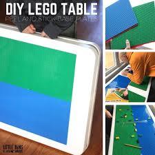 diy folding lego table easy and homemade lego