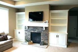 built in shelving around fireplace starterbizinfo fireplace built in shelves fireplace built ins with glass shelves