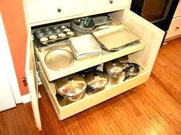 metal pull out kitchen cabinet shelves shelving solutions rolling slide kitc