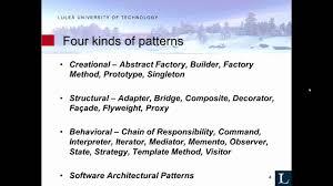 Software Patterns Best Decoration