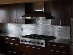 Stainless Kitchen Backsplash Ideas For Dark Cabinets Joanne Russo