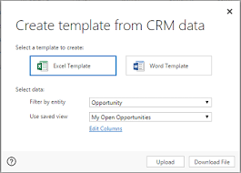 Excel Crm Templates Analyze Your Data With Excel Templates For Dynamics 365 For Customer