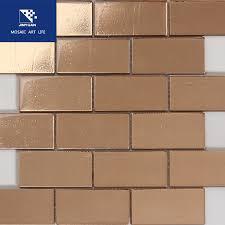 gb10 copper glass tile