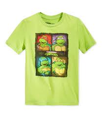 Nickelodeon Size Chart Nickelodeon Boys Quad Graphic T Shirt