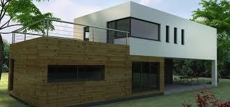 maison en kit ossature metallique luxe constructeur maison contemporaine construction maison