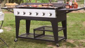 outdoor gas grill with griddle designs