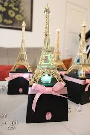 Eiffel Tower Home Decor Accessories Magnificent Paris Decorations For Sweet 32 Paris Eiffel Tower Centerpiece Party