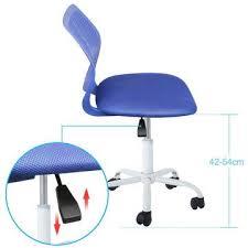 kids swivel desk chair. Unique Kids Pad Seated Ergonomic Kids Swivel Chair In Blue And Desk