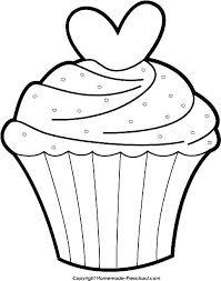 Free Printable Cupcake Template Cupcake Free Printable Birthday