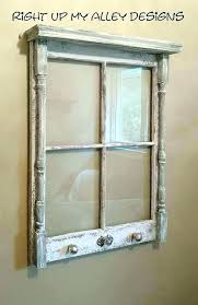 old wooden window frames for antique vintage frame adding windows best with glass decor craft vintage window frames