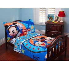 image of mickey mouse toddler bedding color