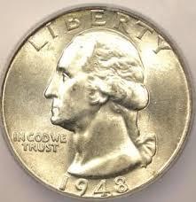 Top 25 Rare Coins 1948 Washington Quarter 25c Icg Ms67