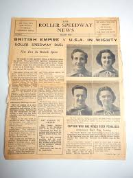 apollo      Search Results   Things I find in the garbage Most of the papers weren     t particularly interesting but I did like this    Roller Speedway News     another term for roller derby  magazine published in London
