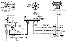 accel 59206 distributor wiring diagram Electronic Ignition Wiring Diagram 95 2Wire Distributor Wiring Diagram