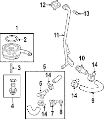 com acirc reg toyota ring o partnumber  2007 toyota camry le l4 2 4 liter gas engine oil cooler