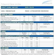Training Programme Schedule Format Training Program Schedule Template Blank Running Plan Excel
