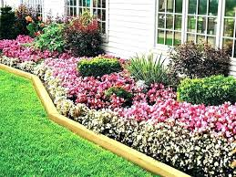 wooden flower bed borders landscape timber ideas timbers as border wood