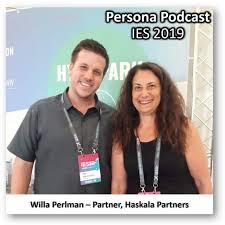 Persona Podcast - Willa Perlman IES 2019 by ניב מורגנשטרן