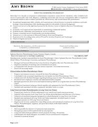 Samples Of Resumes For Administrative Assistant Sample Executive Assistant Resume Resume Samples 13