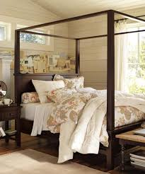 Farmhouse Canopy Bed - Rustic Canopy Bed