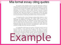 Quoting A Book Mla Gorgeous Mla Format Essay Citing Quotes Coursework Academic Writing Service