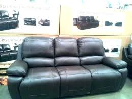 sofa marvelous power reclining leather convertible furniture pulaski sectional costco