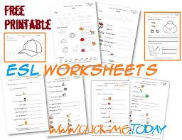 Free printable ESL worksheets for Beginners