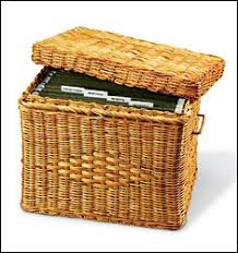 Decorative Hanging File Box Amazon Decorative Hanging File Boxes Wicker File Box 2