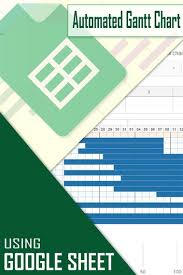 How To Create Automated Gantt Chart Using Google Sheet